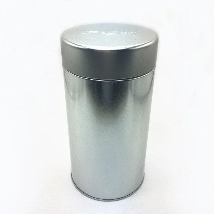 圆形罐身缩口茶叶罐