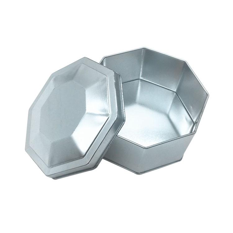 八角形马口铁盒